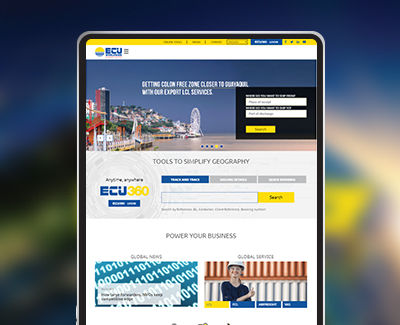 ECU Worldwide Web design work