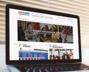 Localizing the SDGs web design work