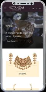 Notandas Website Responsive Design