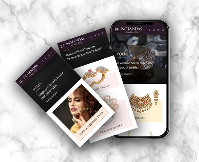 notandas website design