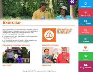 Speak Health COPD App Screenshot 2
