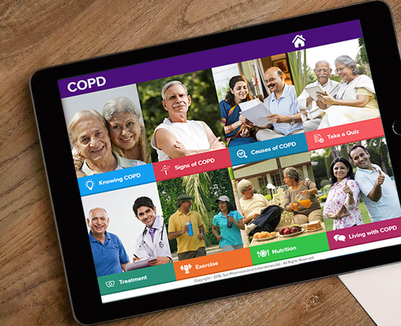 copd speak app design
