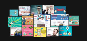 Solus Digital Marketing Creatives Collage