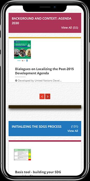 UNDP Website Responsive Design