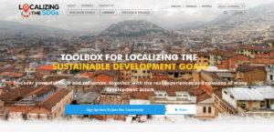 UNDP Website Design Home Page Banner