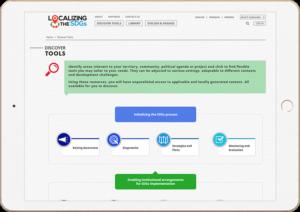 UNDP Design in iPad