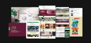 Vardhman Website Design Collage