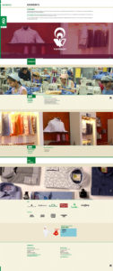 Vardhman Website Garment Page Design