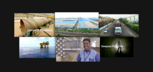 Welspun Corporate Video Collage