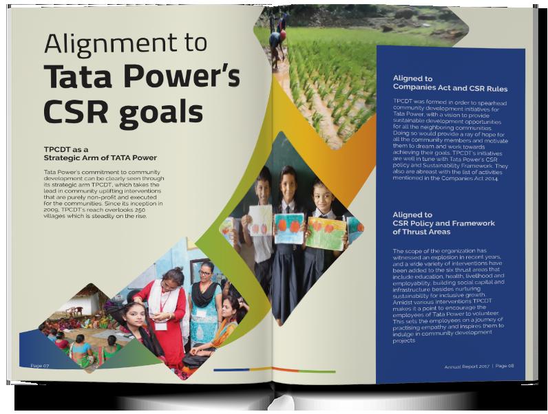 Tata Power CSR Goals
