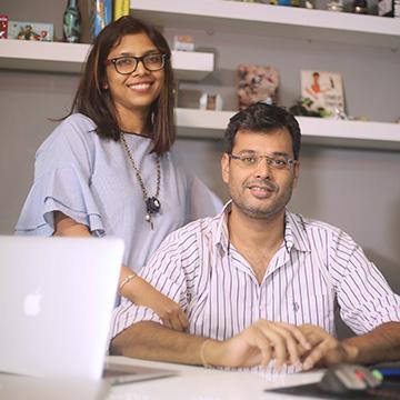 Tushar Garg & Sunidhi Garg