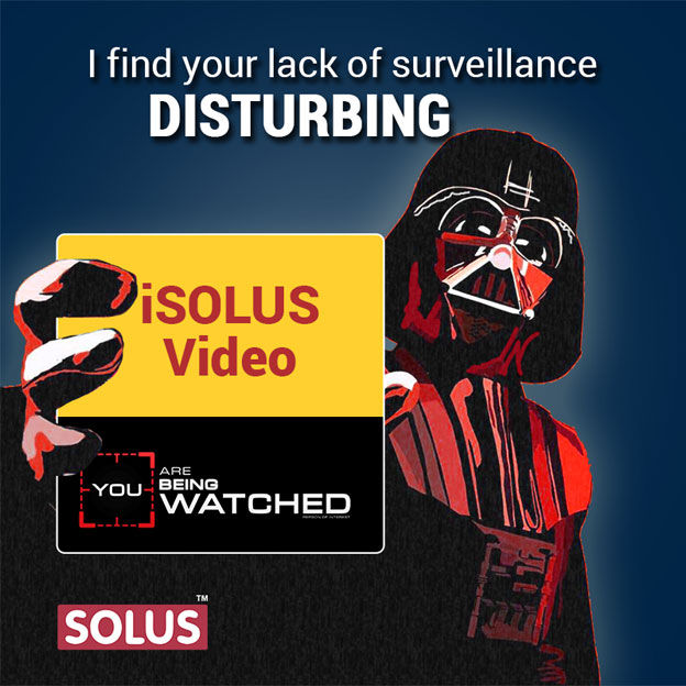 iSolus Digital Marketing Creative on lack of surveillance