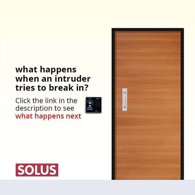 Solus Digital Creative on what happens when an intruder tries to break in