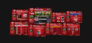 Budweiser Video Screenshots Collage