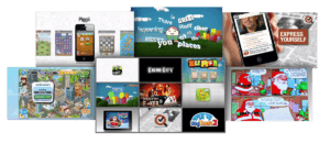 Games Videos Collage