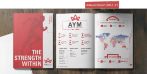 AYM Syntex Annual Report 2016-17