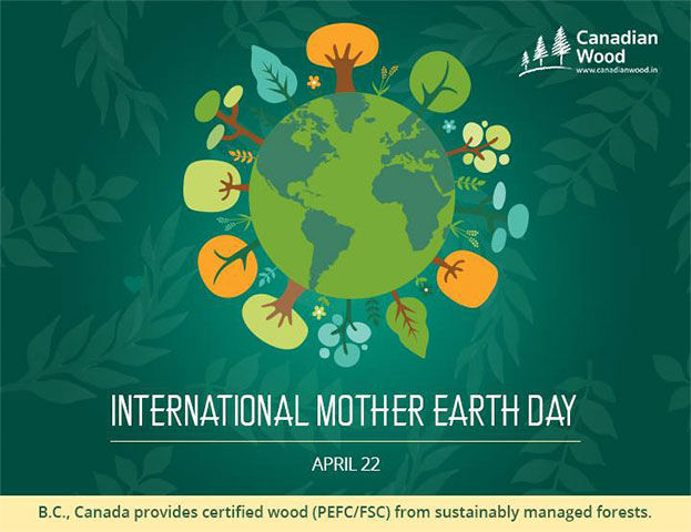 CW Facebook Post Design on International Mother Earth Day