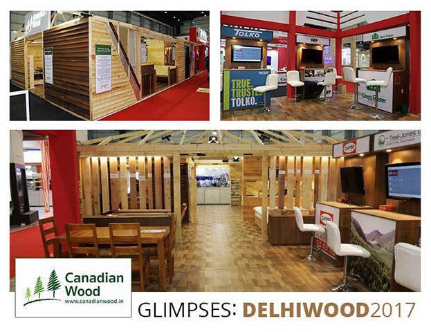 CW Facebook Post Design of Delhi Wood 2017