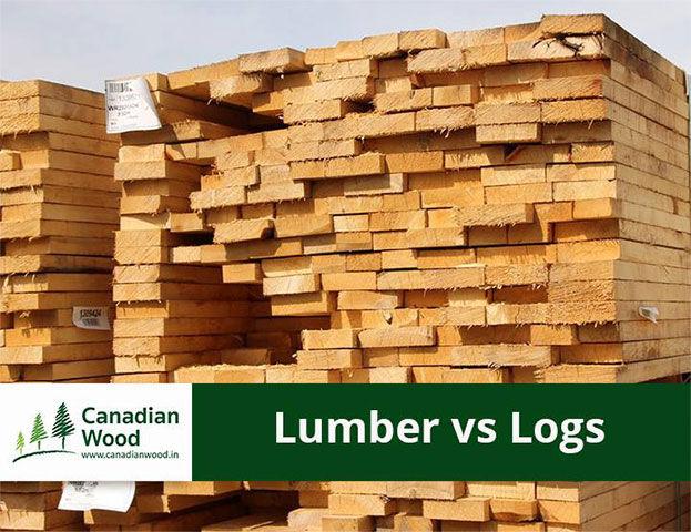 CW Facebook Post Design Lumber vs Logs