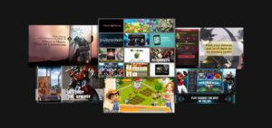 Games Videos Colllage