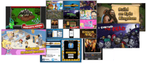 Games Videos Collage