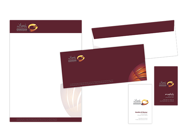 Ghassan Property Stationery Design
