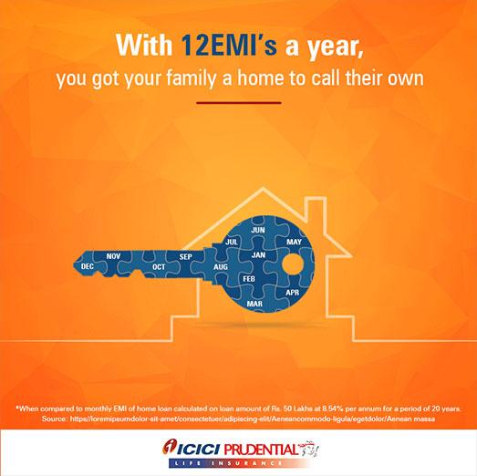 ICICI Pru Home Owners Campaign Creative