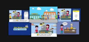 Idea Money Video Collage