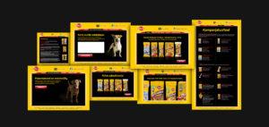 Pedigree Website Screenshot Collage
