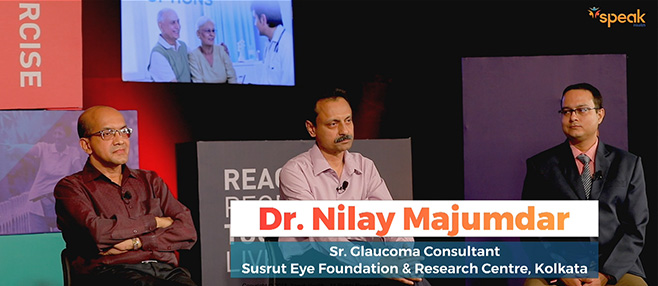 Speak Health Dr. Nilay Majumdar Speaking on Glaucoma