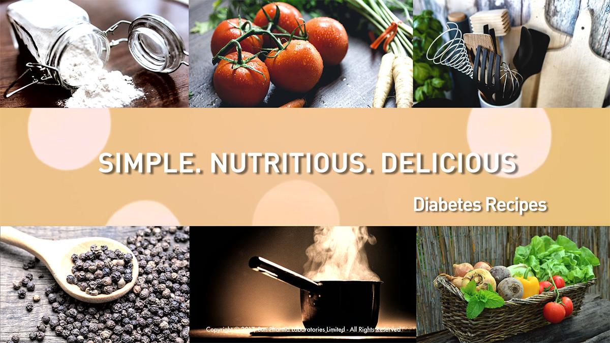 Speak Health Diabetes Recipes Video Screenshot