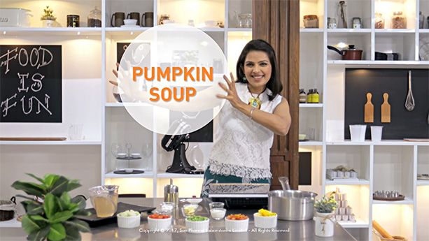Speak Health Diabetes Recipe Pumpkin Soup Video Screenshot