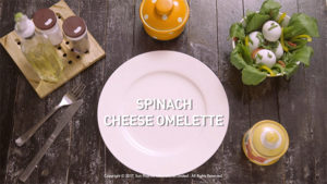 Speak Health Keto Recipes Spinach Cheese Omelette Ingredients
