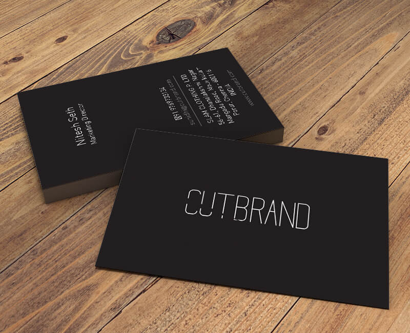 Cutbrand Visiting Card