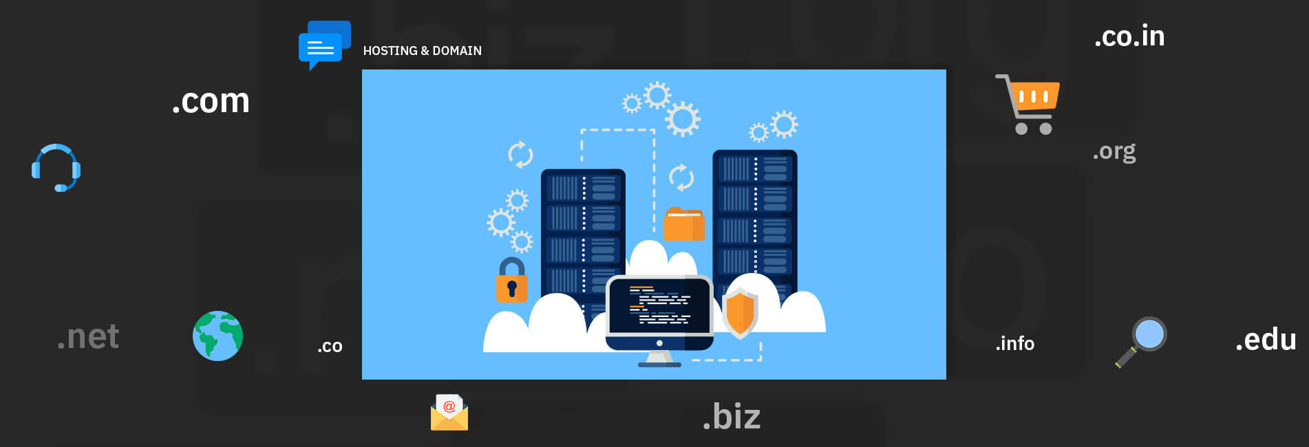 hosting and domain services